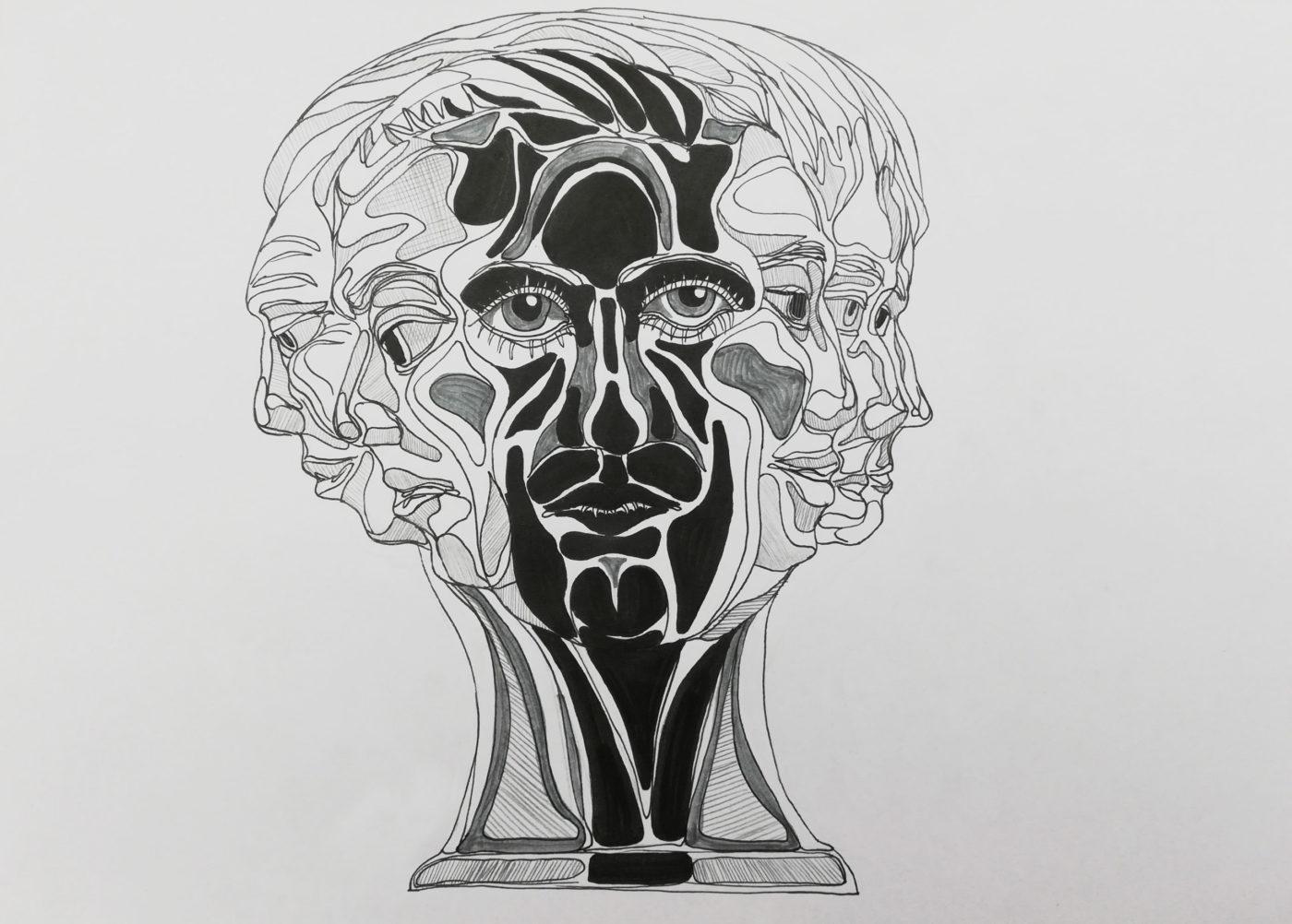Illustration for magazine INK