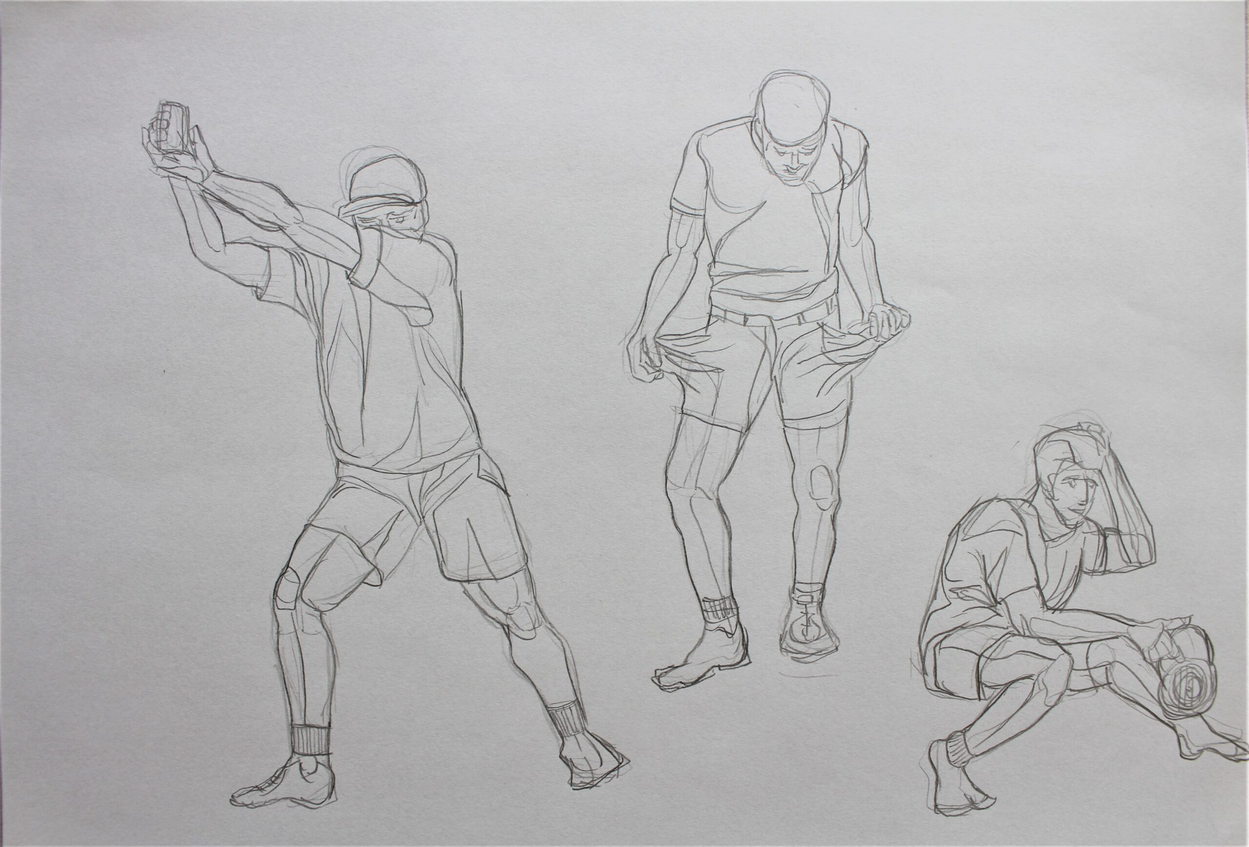 Sketches- fast poses