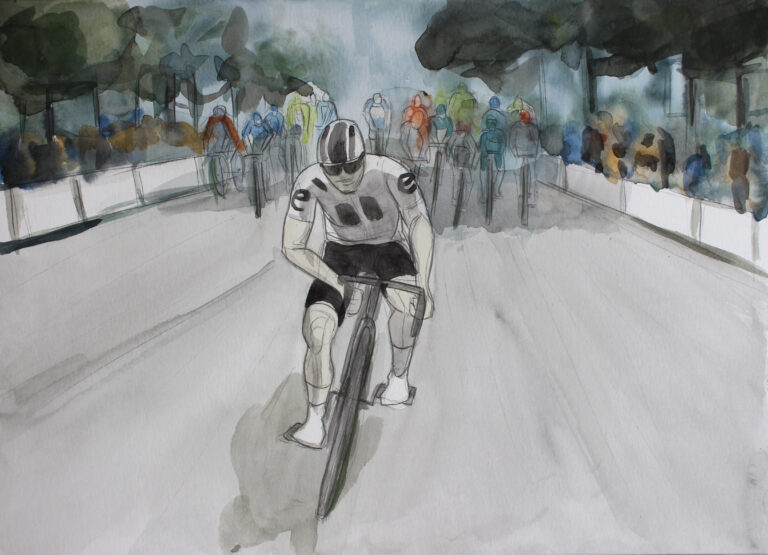 Tour de France 2020 illustration
