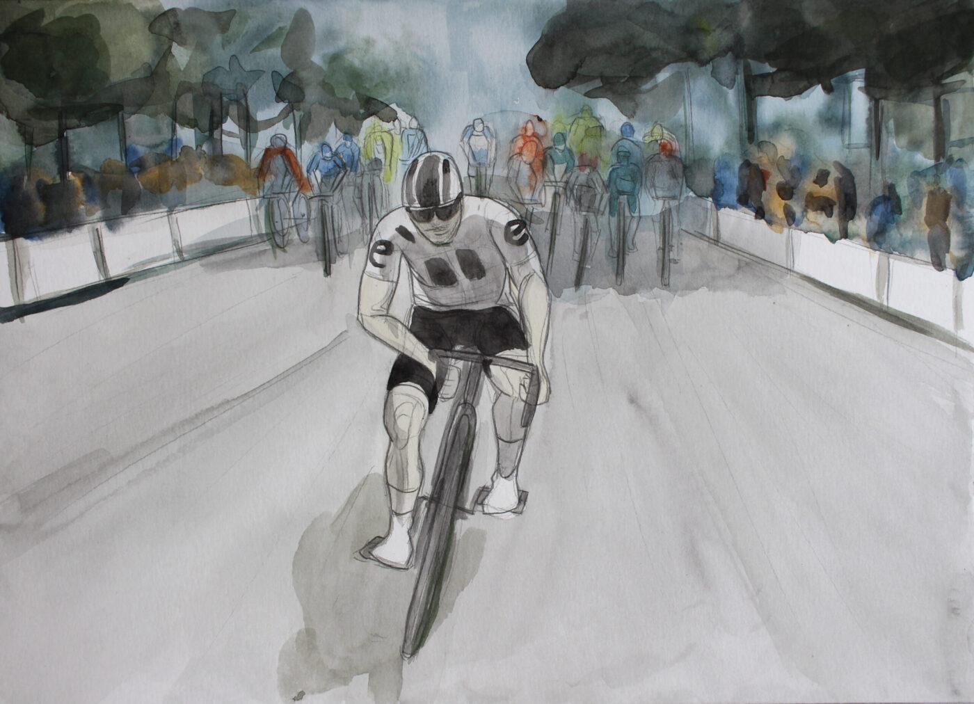 Tour de France 2020 illustration